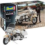 Revell 0793714Modellino US Touring Bike in Scala 1: 8, Level 5