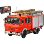 Revell Rv07655 Mercedes 1017 Lf 16 Pompieri Kit 1:24 Modellino