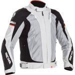 Richa Stormwind, giacca tessile impermeabile 5XL male Grigio/Nero/Rosso