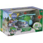 Rocco Giocattoli 83193 - Robocar Poli Veicolo Radiocomandato Helly, 13 cm
