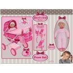 rocco giocattoli Bambolina Carrozzina Set