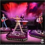 Rock Iconz Queen Set 4 Statue Resina Edizione Limitata 23/25 cm Knucklebonz