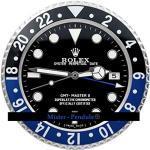 Rolex, Orologio da parete Rolex GMT, colore blu e nero