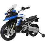Rollplay- BMW R 1200 GS Police Motorcycle, 6V, Blu, Colore, 22921