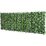 Rotolo Siepe Sempreverde Sintetica Per Esterno Verde 300x100 Cm Miozzi