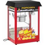 Royal Catering Macchina per popcorn - Ciclo di lavoro da 120 s - Tetto nero RCPS-16EB