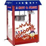 Royal Catering Macchina per popcorn – design americano RCPR-16.1