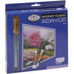 Royal & Langnickel - Set di colori acrilici (18 tubetti)