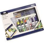 Royal & Langnickel - Set di colori acrilici della linea Medium Flat Essential