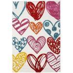RugVista Tappeto Bambini Sweethearts 160X230 Beige/Grigio Chiaro