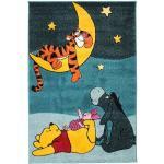 RugVista Tappeto Bambini Wish Upon A Tiger 120X180 Blu Scuro/Blu Turchese