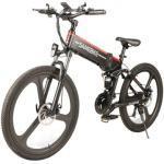 Samebike LO26 Bicicletta Elettrica Pieghevole - Nera