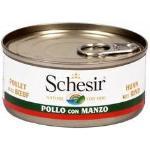 Schesir Cane Pollo Con Manzo 150g