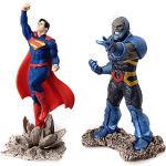 SCHLEICH- Justice League Pack Figurina Superman Vs. Darkseid, 22509