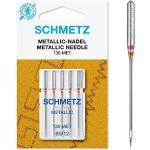 SCHMETZ - Aghi per Macchina da Cucire Metallizzato, Dimensioni: 80