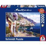 Schmidt - Sam Park Puzzle, Tematica: Pomeriggio Ad Amalfi, 2000 Pezzi