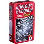 Schmidt Spiele, rompicapi in metallo XXL, 51234, in una bella scatola metallica [etichetta in lingua italiana non garantita]