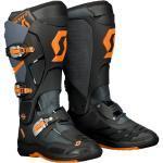 Scott 550 Stivali Motocross, grigio-arancione, dimensione 48
