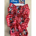 Set 2 Fiocchi Rossi Disney Mickey & Co. Addobbi Natale