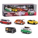 "Set Macchinine Majorette by Simba Volkswagen ""The Originals"" 5 pz"