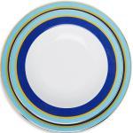 Set piatti da portata a righe