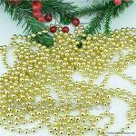 Candele FLAMEER Pretty Pearl Craft Chain 60m 32 Ornamenti per Mobili 60m Beige Albero di Natale Accessori per La Casa