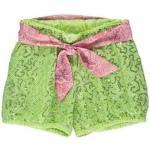 Shorts In Paillettes Con Cintura