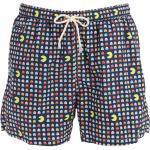 Shorts Mare In Techno Tessuto Stampato