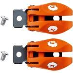 Sidi ST MX Buckles Fibbie, bianco-arancione