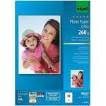 SIGEL IP641 Carta fotografica Ultra, InkJet extra lucida, A4, 260 g, 50 fg.