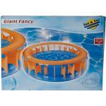 Simex Sport, Piscina Gonfiabile Giant Fancy Pool Spraying Bear, Arancione (Orange/Blau), Taglia Unica