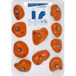 SIMOND. Prese arrampicata VERTIKA JUGS MEDIE X10 arancioni