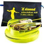 SIMOND. Slackline 25mm x 25metri gialla