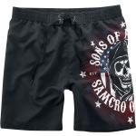 Sons Of Anarchy - Stars & Stripes - Bermuda - Uomo - nero