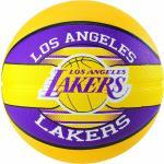 SPALDING. Pallone basket Los Angeles Lakers Taglia 7