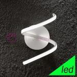 SPIRALE Lampada da Parete a LED Design Moderno