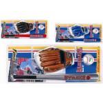 Sport-One Set Baseball Strike 3 Mazza Palla e Guanto