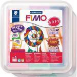 STAEDTLER- Blocchi Colorati di Pasta Modellabile, Colore Assortiti, 8023 50 LX