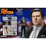 Star Ace Pulp Fiction Vinc Vega Ponytail 1/6 Af Action Figure