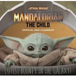 Star Wars - 2021 Wall Calendar - The Mandalorian - Calendario da parete - Unisex - multicolore