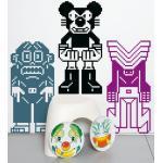 Sticker Peecol sticky 1 di Domestic - Multicolore - Materiale plastico