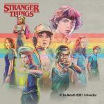 Stranger Things - 2021 Wall Calendar - Calendario da parete - Unisex - multicolore