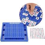 Sudoku Numero di Gioco, Gioco da Tavolo Cubo Table Game Puzzle Giocattolo Digitale Giocattoli per Lo Sviluppo del Cervello Compleanno Regalo per Bambini e Adulti