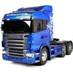Tamiya - 56327 - Radio - Camion - Scania R620 Blu