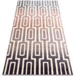 Tappeto KAKE 25809657 Labirinto moderno violet / rosa / grigio 80x150 cm