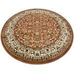 Tappeto ROYAL ADR cerchio disegno 1745 maro rotondo 120 cm