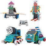 Think Gizmos Kit Robot per Bambini – Kit per Costruire Macchine Ingenious Machines Telecomandate – Divertente Kit di Costruzione (Anatra Robot, Autopompa, Treno e Robot Sciatore)