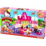 Unico- ANDRONI Giocattoli Costruzioni Plus Hello Kitty Teatrino, Multicolore, 8000796886880