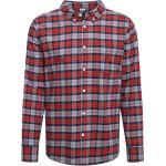 Urban Classics Camicia grafite / rosso chiaro / grigio chiaro