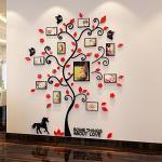 Adesivi murali 3D a tema fiori